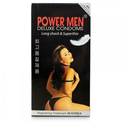 Nơi bán 5 Hộp Bao cao su Power Men Long Shock and Super Thin