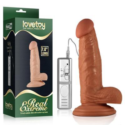 Nơi bánDương vật Lovetoy mềm mịn 7,0 inch có rung